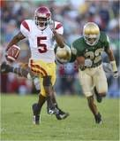 reggie bush ''The Cutback King'' my idol breaking away from notre dame defenders