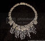Flower Cascade Diamond Necklace